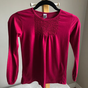 Zara girl long sleeve top size 7-8